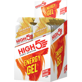 High5 Energy Gel Box 20x40g, Banana
